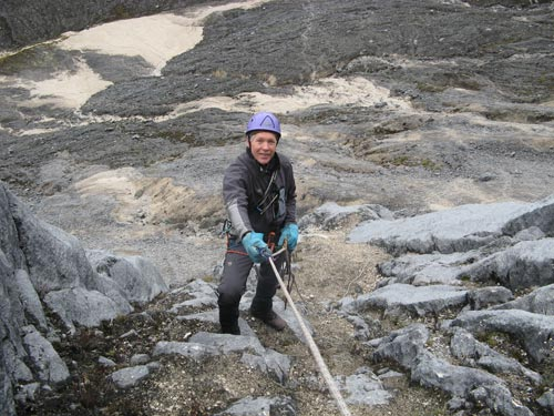 Dan Barter on Carstensz